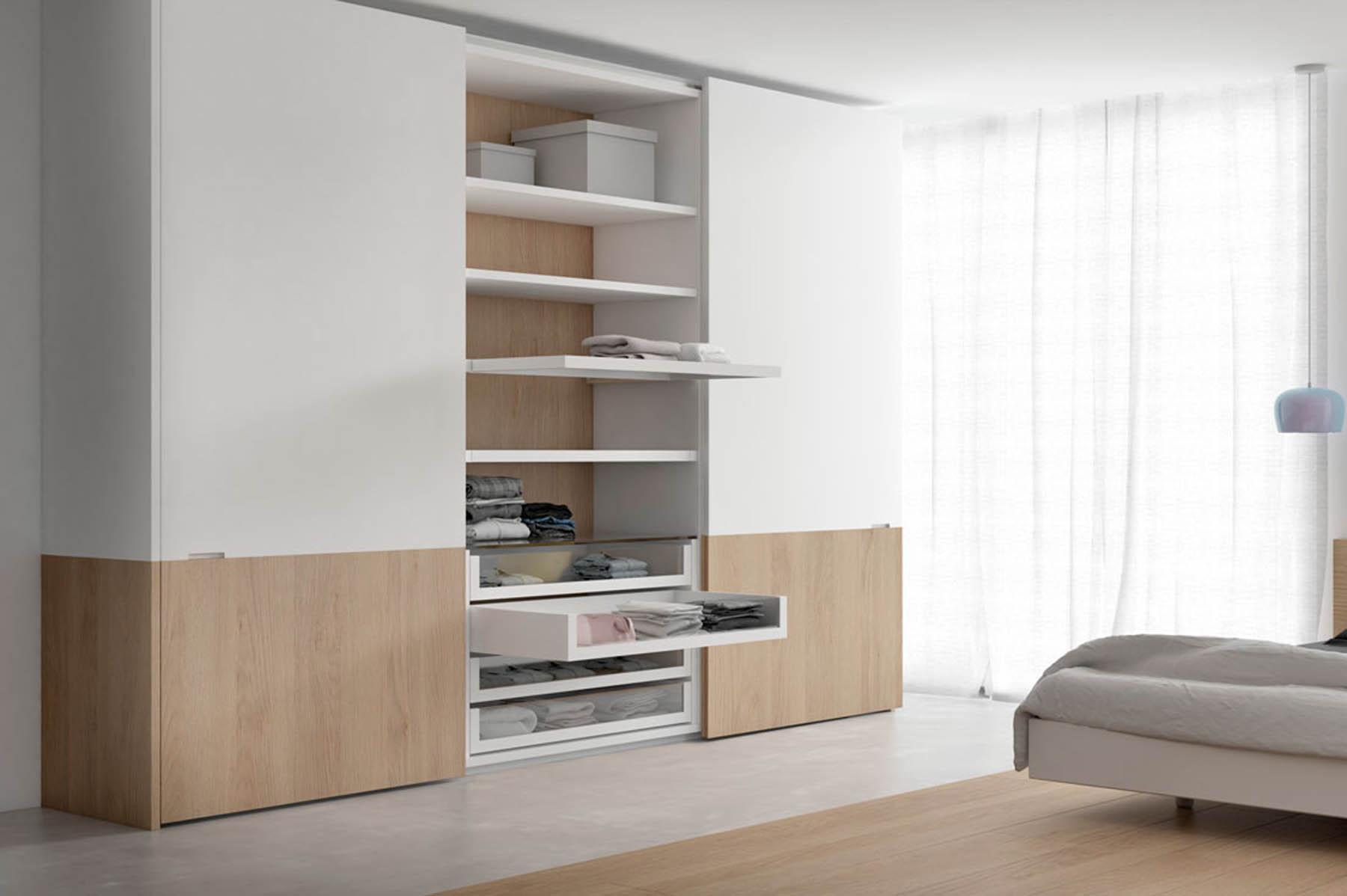 Interiors d'armaris pensats per a l'accessibilitat